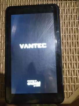Tablet Android MARCA VANTEC. 1 RAM. 16GB ALMACENAMIENTO EXCELENTE estado.