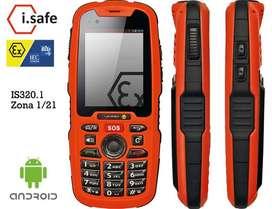 IS320.10 Intrinsicamente Seguro Smartphone áreas peligrosas CLASS 1 DIV 1 HED PRO DIVISION 1 HED ELECTRONIS SAC