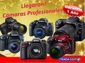 CAMARAS FOTOGRAFICA PROFESIONAL CANON T6i T7i 80D NIKON D3400 D5300 D5500 D5600 D7100 D7200