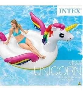 Flotador Intex 57281 Mega Unicornio Multicolor Env Inmediato