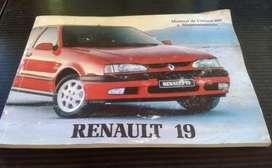 Manual Original Renault 19