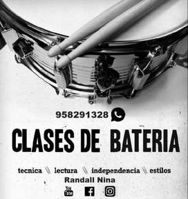 CLases de Bateria30