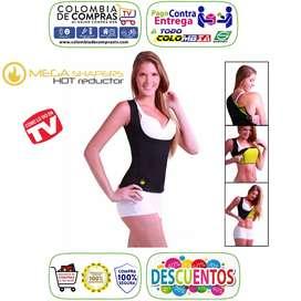Cami Senos Libres TV Liso Térmico Mega Shapers Hot Reductor, Nuevos, 100% Originales y Garantizados...