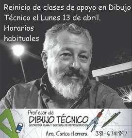 Clases de apoyo en Dibujo Técnico en Tucumán
