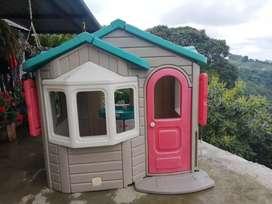 Casa de juguete, tamaño real