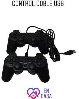 Control USB Doble