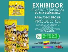 Exhibidor Plástico (Ristras)