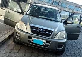 Vendo auto chery Tigo 2.4 full A/C