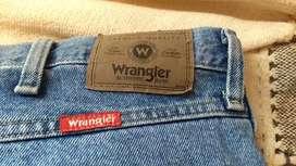 Jean Wrangler Talle 38/34 Regular Fit