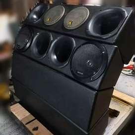 Rackeras de exelente calidad de sonido