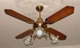 Reparaciones   e  Instalaciones de ventiladores de techo