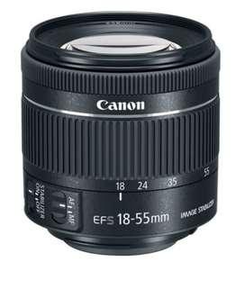 Lente Ef-s Canon 18-55mm F/3.5-5.6 Iii
