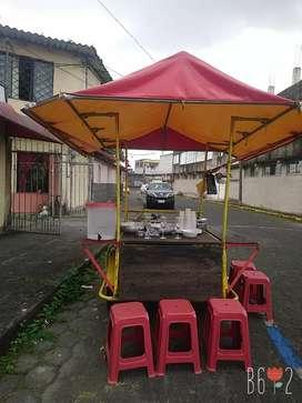 Se vende de oportunidad triciclo de comida