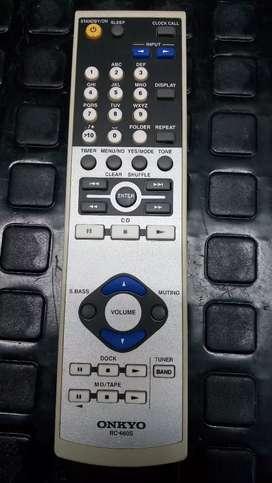Onkyo control remoto