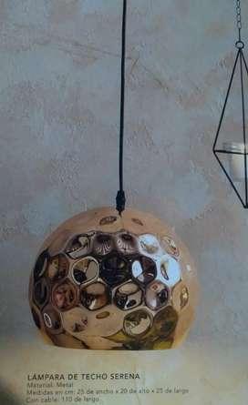 Lámpara de techo nueva