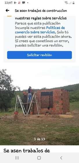 Se asen trabajos de construccion