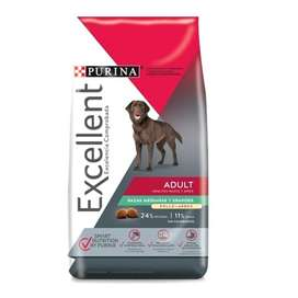 Excellent Purina Perro adulto Pollo y Arroz x 20 kgrs