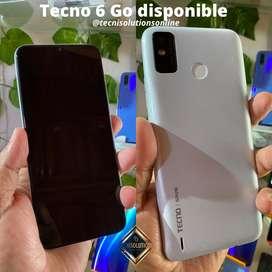 Tecno Spark 6 Go disponible en color boanco de 32gb