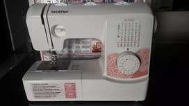 Máquina de coser Brother casera