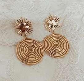 Accesorios aretes oro goldfield cadenas diademas