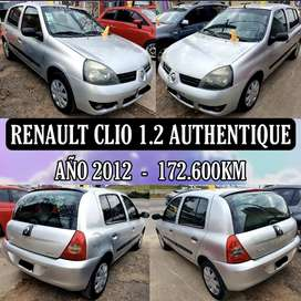 Renault Clio 1.2 Aa/Dh 2012