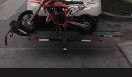 Porta motos, trailer o carreta para moto lineal