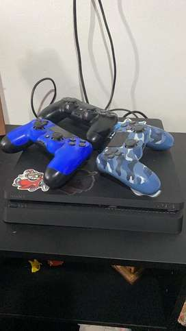 Play station 4 500gb 3 controles 23 juegos