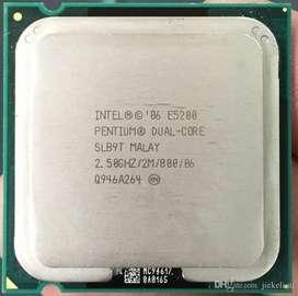 Micro Intel Dual core E5200 2.5Ghz
