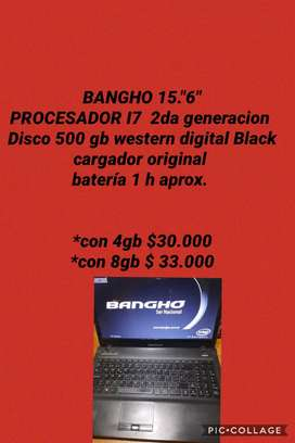 "NOTEBOOK 15.6"" BANGHO"