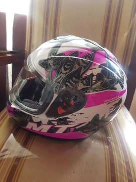 Casco moto niña nuevo