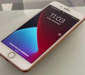 Iphone 8 plus con todos sus accesorios originales