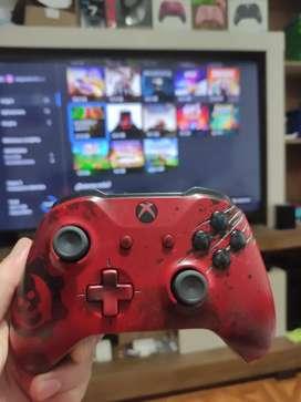 Control Xbox one edición limitada gears 4