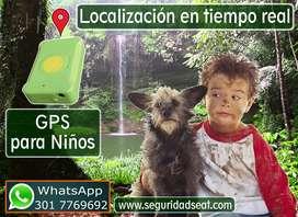 Ubicación por Satelite para Personas: Niños, ancianos, objetos GPS