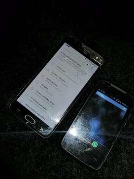 Cambio Estos dos celulares a otro y se encima J5 Prime y Sedtel