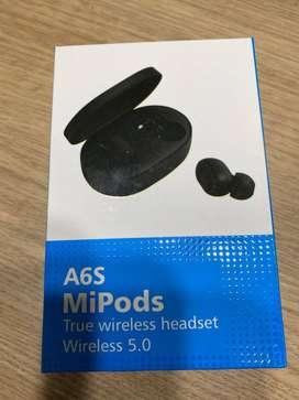 Audifonos A6S MiPods