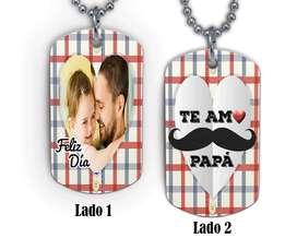 Cadena / Placa / Collar Personalizado por el dia del Padre