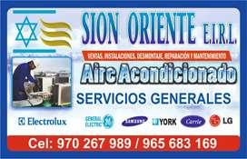 Aire acondicionado/ reparación y venta