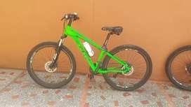Vendo bicicleta en aluminio GW