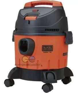 Black Decker Aspiradora 10l 1200w Agua Polvo Soplador 3 En 1
