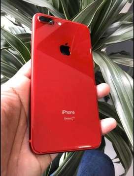 IPhone 8 Plus Rojo - 64 GB - ¡como nuevo!