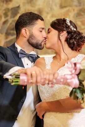 Plan Novia Oro, maquillaje a domicilio y peinado para novia, incluye prueba, extensión de pestañas, manicura y pedicura.