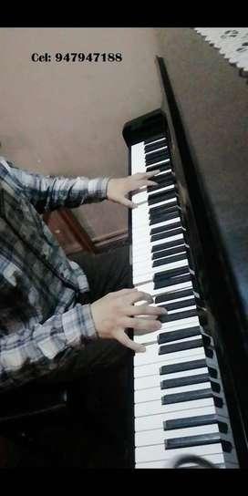 PIANISTA BRINDA CLASES DE PIANO Y LENGUAJE MUSICAL, PRECIOS ECONÓMICOS!!