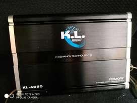 Planta amplificadora + caja de sonido
