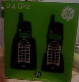 Duo de teléfonos inalámbricos General Electric
