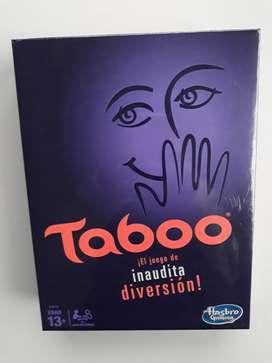 Juego De Mesa Taboo Tabú Original Nuevo Y Sellado En Español