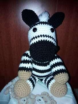 Muñecos personajes en crochet