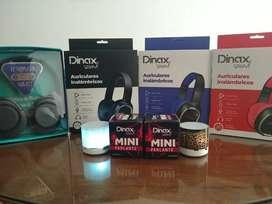 Auriculares Bluetooth y parlantes