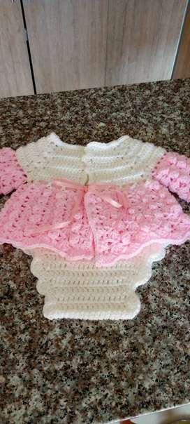 Ropa para bebes tejidas a crochet