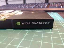 Tarjeta De Video Nvidia Quadro K4000