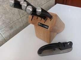 Cuchillos de acero Rena Ware